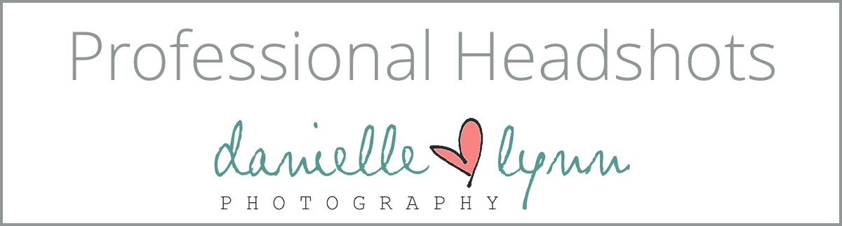 Danielle Lynn Photography professional headshots logo